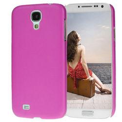 Capa para Galaxy S4 i9500 Ultra Fina de TPU - Pink Fosco