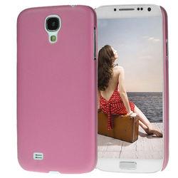 Capa para Galaxy S4 i9500 Ultra Fina de TPU - Rosa Fosco