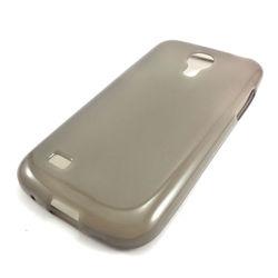 Capa para Galaxy S4 Mini i9190 de TPU - Preto Transparente