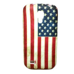 Capa para Galaxy S4 Mini i9190 de TPU - USA