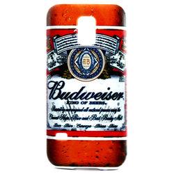 Capa para Galaxy S5 Mini G800 de TPU - Budweiser 1