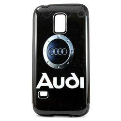 Capa para Galaxy S5 Mini G800 de TPU com Plástico - Audi