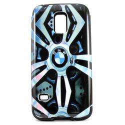 Capa para Galaxy S5 Mini G800 de TPU com Plástico - BMW