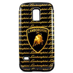 Capa para Galaxy S5 Mini G800 de TPU com Plástico - Lamborghini