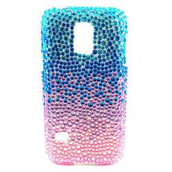 Capa para Galaxy S5 Mini G800 de TPU Com Strass - Colorida