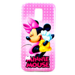 Capa para Galaxy S5 Mini G800 de TPU - Minnie 1