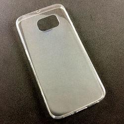 Capa para Galaxy S6 Edge G925 de TPU com Película - iCover Basic | Transparente