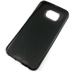Capa para Galaxy S6 Edge G925 de TPU - Preta Transparente