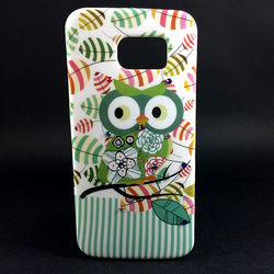 Capa para Galaxy S6 G920 de TPU - Coruja | Verde