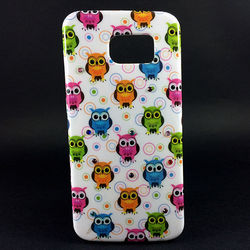 Capa para Galaxy S6 G920 de TPU - Corujinhas | Branca 1