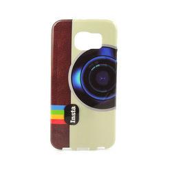 Capa para Galaxy S6 G920 de TPU - Instagram