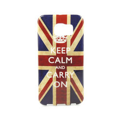 Capa para Galaxy S6 G920 de TPU - Keep Calm and Carry On