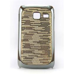 Capa para Galaxy Y Duos S6102 de TPU Brilhante - Dourada