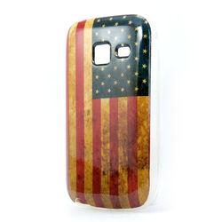 Capa para Galaxy Y Duos S6102 de TPU - USA