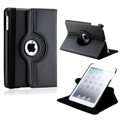 Imagem de Capa para iPad 2, 3 e 4 de Couro Sintético com Rotação de 360 Graus - Preta