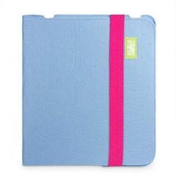 Capa para iPad 2, 3 e 4 de Feltro - Azul