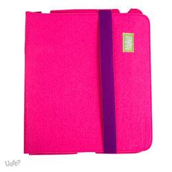 Capa para iPad 2, 3 e 4 de Feltro - Pink