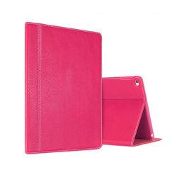 Capa para iPad Air 2 de Couro Legítimo - Rosa
