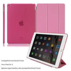 Capa para iPad Air 2 traseira de Plástico compatível com Smart Cover - Rosa