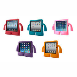 Capa para iPad Air e Air 2 de Borracha Anti Shock Traseira - Mãozinhas