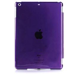 Capa para iPad Mini 1, 2 e 3 traseira de Plástico compatível com Smart Cover - Roxa