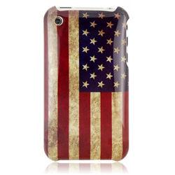 Capa para iPhone 3G e 3GS de Plástico - USA Retrô
