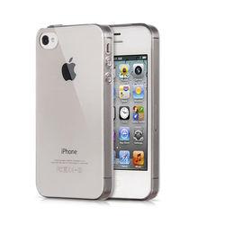 Capa para iPhone 4 de TPU Casca de Ovo - Transparente