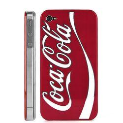 Capa para iPhone 4 e 4S de Plástico - Coca Cola