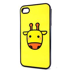 Capa para iPhone 4 e 4S de Plástico - Girafa