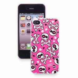 Capa para iPhone 4 e 4S de Plástico - Love Punk