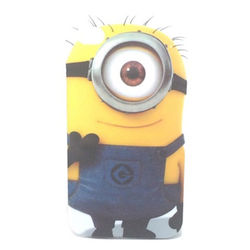 Capa para iPhone 4 e 4S de TPU - Minion Carl