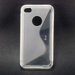 Capa para iPhone 4 e 4S de TPU - Shape S Transparente