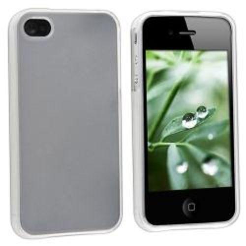 Imagem de Capa para iPhone 4 e 4S de TPU - Transparente Fosca