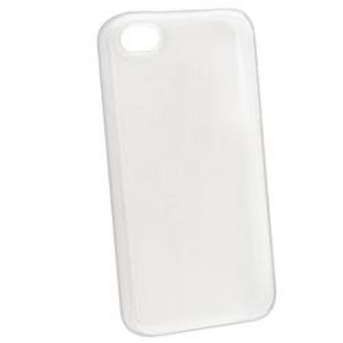 Capa para iPhone 4 e 4S de TPU - Transparente Fosca