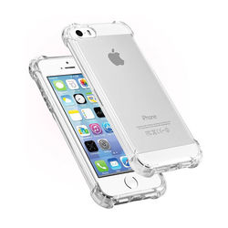 Capa para iPhone 5 de TPU Anti Shock - Transparente