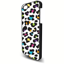 Capa para iPhone 5 e 5S de Plástico - Animal Print