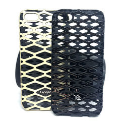 Capa para iPhone 5 e 5S de TPU com Plástico - Arabesco