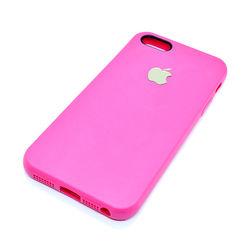 Capa para iPhone 5 e 5S de TPU - Símbolo Apple | Rosa