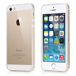 Capa para iPhone 5 e 5S de TPU - Transparente