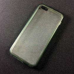 Capa para iPhone 5C de Acrílico com Traseira Transparente - Lateral Fumê