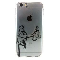 Capa para iPhone 5C de TPU - Custom Art | Direito