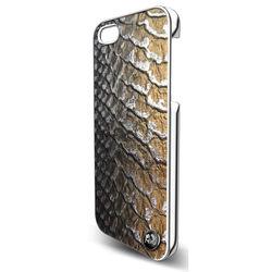 Capa para iPhone 6 de Couro Legítimo - Pido   Croco Metal