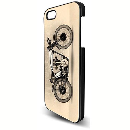 Imagem de Capa para iPhone 6 de Plástico - Bike Vintage
