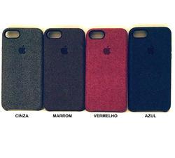 Capa para iPhone 6 e 6S Alcântara Jeans