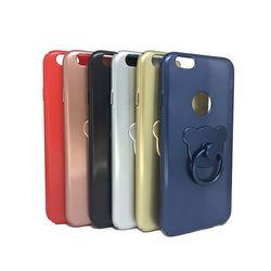 Capa para iPhone 6 e 6S de Plástico - Ursinho