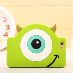 Capa para iPhone 6 e 6S de Silicone - Monstros SA | Mike