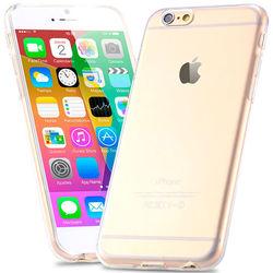 Capa para iPhone 6 e 6S de TPU Casca de Ovo - Transparente