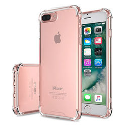 Capa para iPhone 7 Plus de TPU Anti Shock - Transparente