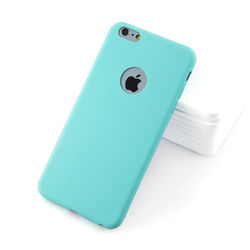 Capa para iPhone 7 Plus e 8 Plus com Furo - Silicone