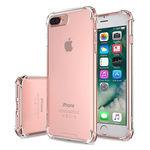 Capa para iPhone 7 Plus e 8 Plus de TPU Anti Shock - Transparente